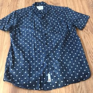 Cactus Brand Button Down Shirt Size Large